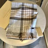 burberry巴宝莉经典羊绒格子围巾