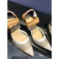 爆款推出芬迪Fendi新款韓版時尚高跟涼鞋