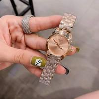 天梭-Tissot 海浪系列女士腕表 金壳+20