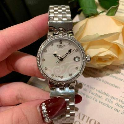 帝陀-TUDOR玫瑰系列 女士腕表 金+50批发