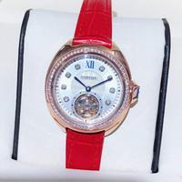 卡地亚-Cartier 钥匙系列陀飞轮机械女士腕表