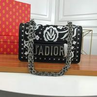 Dior 迪奥柜款翻盖Jadior单肩斜挎包
