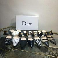 Dior迪奥  官网同步更新 小尖头平底系列