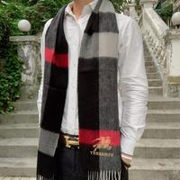 巴寶莉 Burberry男士圍巾純正羊毛面料