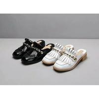 ChristianLouboutin女士铆钉懒人鞋