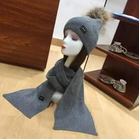 ️FENDI芬迪原单帽子围巾套装