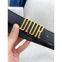 Dior 迪奥 原单品质笛奥D-Fence头层小牛皮皮带