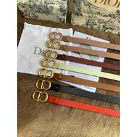 Dior 迪奥 原单品质D笛奥女士腰带可做束腰使用