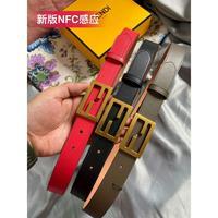 新款Fendi 芬迪 原单品质实拍芬笛女款腰带