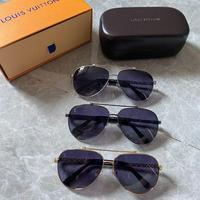 LV Louis Vuitton 路易威登 高品质电镀潮款眼镜偏光墨镜
