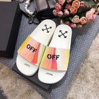 Off White OffStamp系列情侣款拖鞋