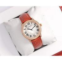 卡地亚(Cartier)最新推出的高级珠宝系列腕表 金壳+30