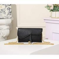 黑色手掌紋配原版盒子Dior 迪奧鏈條包