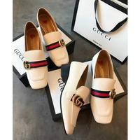 Gucci古奇时尚风向标 官网致美时尚 单鞋半拖鞋方头