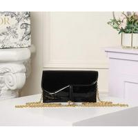 黑色配原版盒子 Dior 迪奧鏈條包