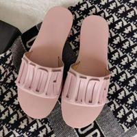 迪奥Dior字母拖鞋2020年夏日最新火爆彩色字母拖鞋