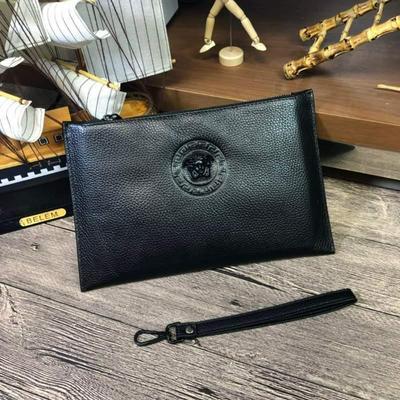 新款 范思哲Versace專柜最新爆款男士手包批發