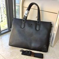 新品Versace范思哲男士上品手提斜挎包專柜熱銷爆款公文包