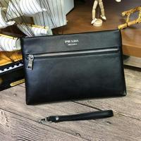 新款Prada普拉達 專柜最新爆款男士手包