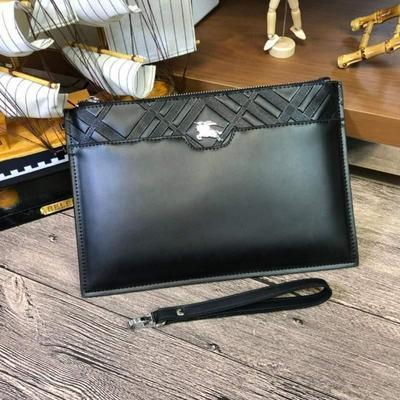 新款Burberry巴寶莉 專柜最新爆款男士手包批發
