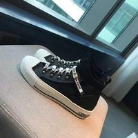 Dior 迪奧Fusion穿孔科技針織 4寸高筒運動鞋