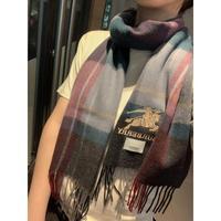 Burberry 巴宝莉 高品质进口羊绒丝巾围巾惊爆上架海外专柜