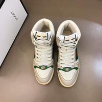 GUCC 古驰 2020s情侣高帮运动系列复古小脏鞋,这款运动鞋