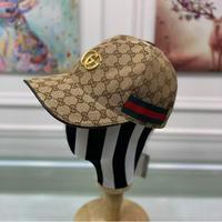 Gucci(古奇)新款帽子原单棒球帽金属双G