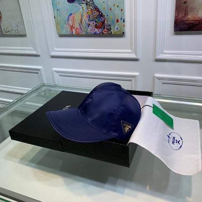 Prada(普拉达)经典原单帽子棒球帽经典倒批发