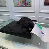 Prada(普拉达)经典原单帽子棒球帽经典倒