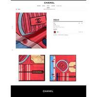 Chanel 香奈儿 新2021专柜最新款丝巾围巾小香拼图案真