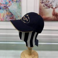 Prada(普拉达)新款帽子原单棒球帽金丝刺