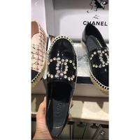 2021新款Chanel 香奈儿 原版1:1渔夫新配色 金铆钉带钻闪闪