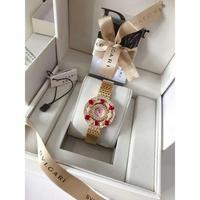 Bvlgar 宝格丽 之高端珠宝系列精致腕表 钢带+20