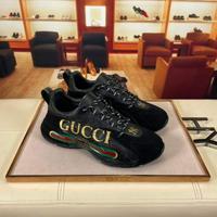 GUCCI古奇顶级代购男士休闲运动鞋
